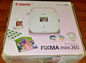 Canon PIXMA Mini 260 Digital Photo Inkjet Printer Brand New Open Box