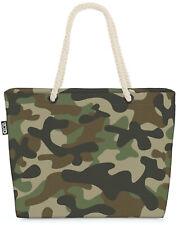 Camouflage Muster Grün Beach Bag Tarn-Kleidung Tarn-Farben Militär Muster Grün