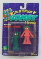 The Adventures of Gumby & Friends Miniature Superflexibles, Trendmasters