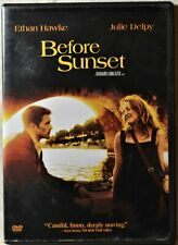 Dvd Before Sunset Ethan Hawke Julie Delpy Comedy Drama Romance Paris France #B