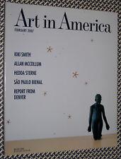 Art In America Magazine, KIKI SMITH, Allan McCollum, Hedda Sterne, Brazil