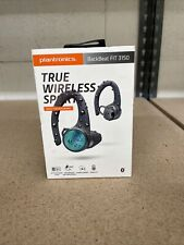 New- Plantronics Backbeat Fit 3150 True Wireless Sport Earbud Earphones-Black