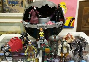 Teenage Mutant Ninja Turtles Techno dome 10x Figures and car