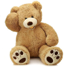 Giant Teddy Bear with Big Footprints Giant Stuffed Animal Large Soft Toy 39 inch