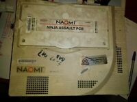 sega naomi ninja assault arcade main pcb non working #10