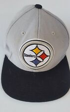 Pittsburgh Steelers Mitchell & Ness NFL Vintage Collection Snapback Hat Black