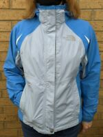 THE NORTH FACE Hyvent Blue Womens Windbreaker Coat Jacket Waterproof SMALL 12/14