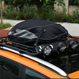 Auto Dach Cargo Gepäck Tasche Korb Oberteil Rack Träger Wasserfest 160x110x45 CM