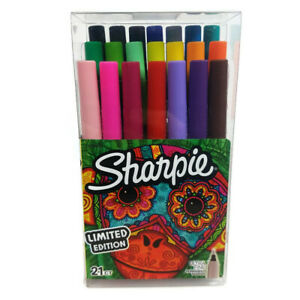 Sharpie Limited Edition Ultra Fine Tip Permanent Markers Art Craft 21 Count New