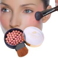 Face Powder Makeup Ball Blusher Rouge Pearl Silky Effect Face Makeup powder