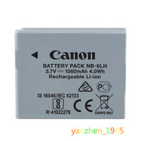 Original Genuine Canon NB-6LH NB-6L Battery for Canon NB-6L S90 D10 IXUS85 95