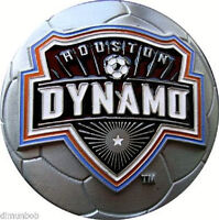 Fabulous Houston Dynamo MLS Belt Buckle Soccer