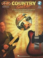 Al Bonhomme Country Guitar BookOnline Audio Musicians Institute Master Clas