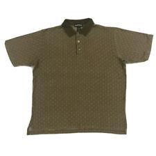 Arnold Palmer Golf Polo Shirt Mens Large Brown