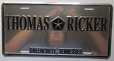 1990's THOMAS RICKER CHRYSLER DEALERSHIP GREENEVILLE TENN BOOSTER License Plate