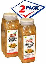 Badia Rotisserie Chicken Seasoning Blend/ Sazon para Pollo 1.5Lb. 2 pack.