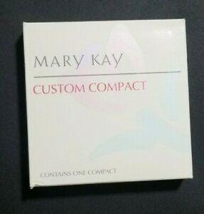 Vintage Mary Kay CUSTOM COMPACT Refillable Pink New in Box