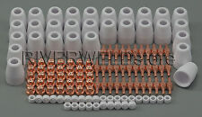 130pcs PT-31 LG40 Air Plasma Cutter Torch Consumables KIT 30/40A CUT-40/50 CT312