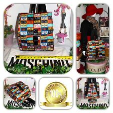 🎒 ALLURING MOSCHINO RUCKSACK  LICENSE PLATE BACKPACK! 🎒