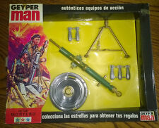 "GEYPERMAN GEYPER MAN  MORTERO  12"" G.I. JOE 1970'S VINTAGE"