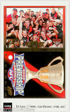 Year 2000 Select AFL Essendon Premiership Limited Edition Card + Predictor Card