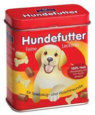 De Madera fingir Juego De Rol Alimentos (Tienda Cocina de Juego ERZI): comida para perro mascota en una lata