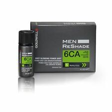 Goldwell Men ReShade 6CA cool ash dark blonde 4 x 20 ml / 0.6 oz grey blending