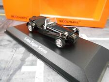 LOTUS SUPER SEVEN 7 Roadster 1968 Black Noir maxichamps MINICHAMPS 1:43