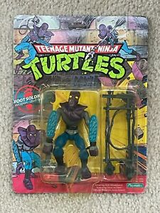 TMNT 1988 Teenage Mutant Ninja Turtles Foot Soldier Action Figure Toy Sealed