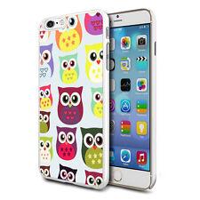 Multi Owls Design Hard Back Case Cover Skin For Various Phones