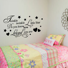 Twinkle-wall Sticker Decal Wallpaper Vinyl Baby Boy Girl Kids Room Decor Bedroom
