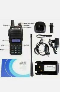 Baofeng UV-82 DOPPIO PTT Dual Band V/U 5W Radio DTMF PMR RICETRASMITTENTE