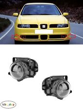 SEAT LEON CUPRA 1M1 1999 - 2005 2X NEW FRONT FOG LIGHT LAMPS PAIR LEFT + RIGHT