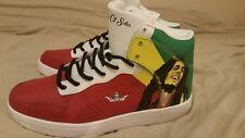 Basket Bob Marley Édition Limitée Taille 44,5 voir descriptif! style Air Force 1