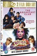 THE BREAKFAST CLUB & WEIRD SCIENCE JOHN HUGHES 2 DISC BOX SET UNIVERSAL DVD NEW
