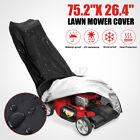 Waterproof Lawn Mower Cover Heavy Duty Push Mower 191x67cm Fit Universal Anti UV