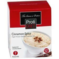 ProtiDiet - Low Calorie Cinnamon-Spice Instant Oatmeal