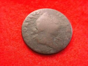 1773 VIRGINIA HALF CENT NO PERIOD GREAT EARLY COLONIAL COIN!!   #11