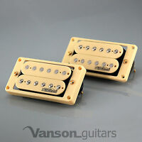 NEW Wilkinson 'HOT' IVORY Humbucker Pickup SET for Gibson, Epiphone ®* MWHB IV
