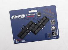 BBB VeeStop - Mountain Bike V Brake Cartridge Brake Pads x 4 - BBS-06