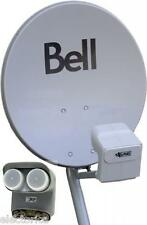 "20"" BELL EXPRESS VU HD DISH 500 SATELLITE TWIN DPP LNB + SW21 SW44 MULTI-SWITCH"