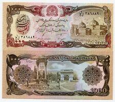 P 61 Afghanistan 1000 Afghanis Banknote Money UNC 1991