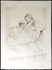 Lucien P. Moretti, #12 P. 168, SN Un Sac de Billes b&w Orignal Lithograph OBO