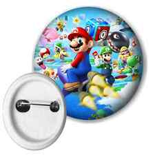 Super Mario Bros Button Pin Badge 58mm