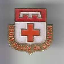 RARE PINS PIN'S .. ONG LA CROIX ROUGE FRANCAISE BRETAGNE BREIZH QUINTIN 22 ~C8