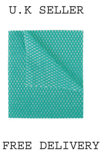 2Work Economy Cloth 420x350mm Green (Pack of 50) 2W08169