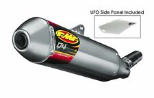 FMF Racing  Q4 Spark Arrestor Slip-On Yamaha WR250R WR250X