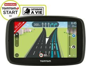 GPS TOMTOM START 50 NAVIGATION AUTOMOBILE FRANCE & EUROPE AVEC ALERTES RADARS