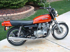 SUZUKI GS750 GS750A RESTORATION DECAL SET 1976 RED MODEL