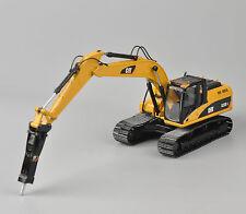 1/50 Scale Diecast Metal CAT 323D L Hydraulic Excavator W/H120E Hammer Model